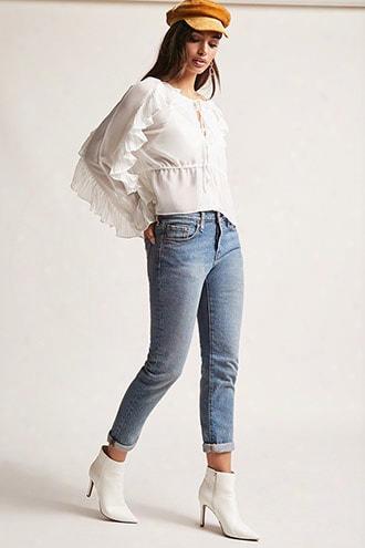 Levis 501 Ankle Jeans