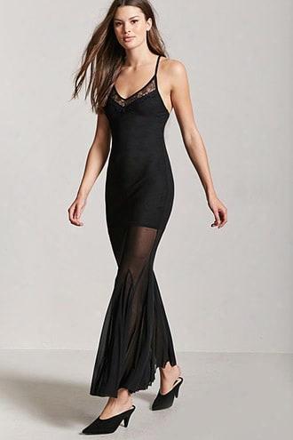 Mesh Combo Dress