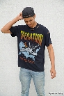 Distressed Operation Graphic Tee