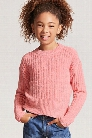 Girls Chenille Sweater-Knit Top (Kids)