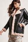 Goldie London Faux Leather Jacket