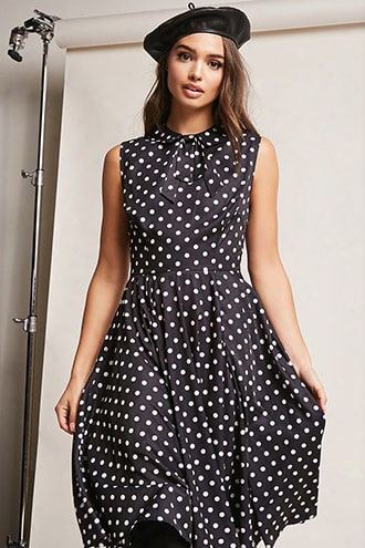 Unique Vintage Polka Dot Dress