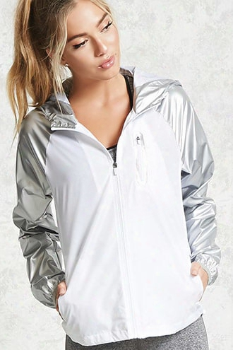 Active Metallic Nylon Jacket