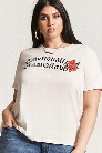 Plus Size Emotionally Unavailable Graphic Tee