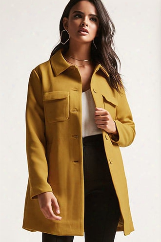 Twill Button Coat