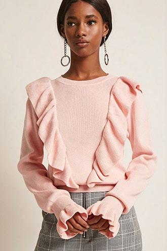 Dual Flounce Sweater