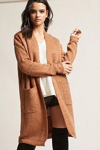 Fuzzy Knit Cardigan