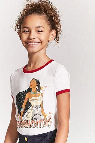 Girls Pocahontas Ringer Tee (kids)