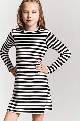 Girls Striped Swing Dress (kids)