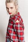 Button-Up Plaid Shirt