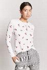 Cherry Print Sweater