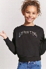 Girls Whatevs Sweatshirt (Kids)