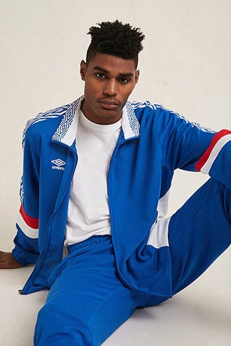 Umbro Logo Colorblock Track Jacket