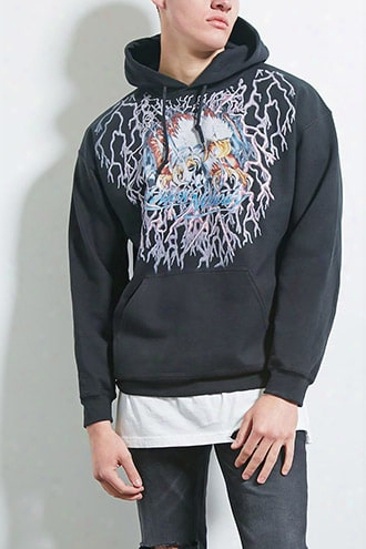 Bleach. Eagle Graphic Hoodie