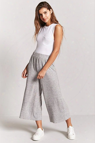 Brushed Knit Culottes