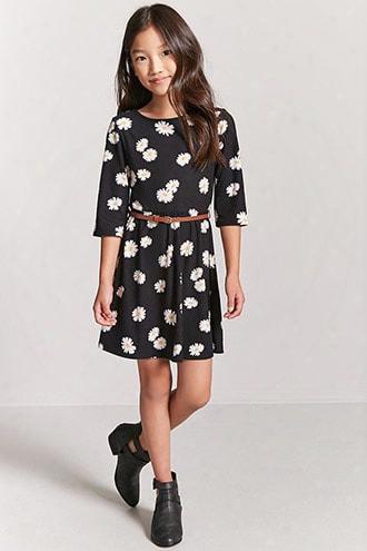 Girls Daisy Print Dress (kids)