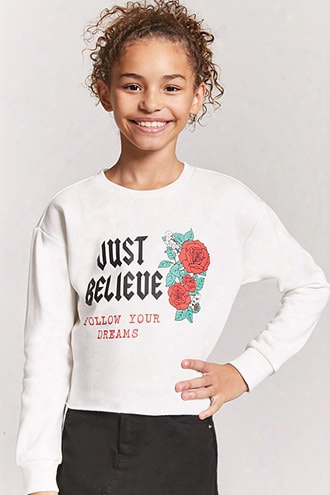 Girls Follow Your Dreams Sweatshirt (kids)
