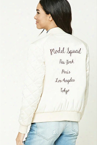 Model Squad Bomber Jacket