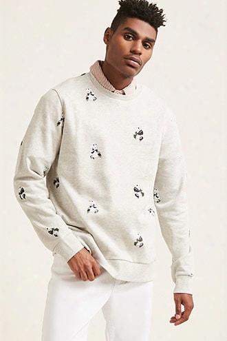Panda Graphic Sweatshirt