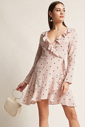 Selfie Leslie Polka Dot Dress