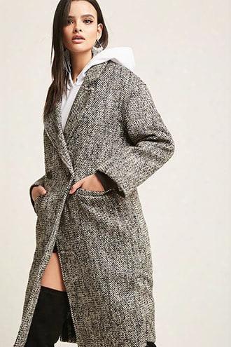 Wool-blend Longline Jacket