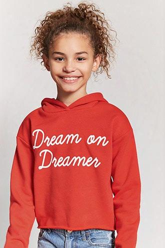 Girls Dream On Dreamer Hoodie (kids)