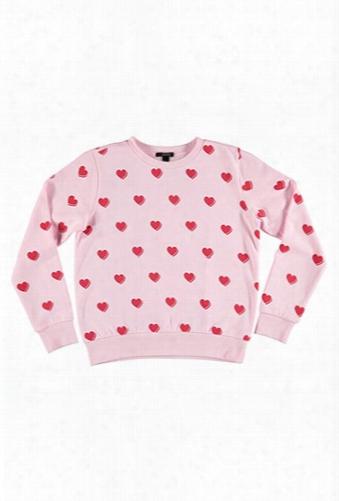 Heart Graphic Sweatshirt