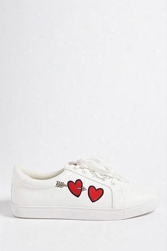 Low-top Heart Sneakers