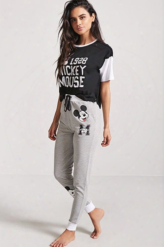 Mickey Mouse Graphic Pajama Pants