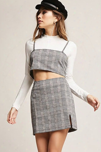 Motel Glen Plaid Skirt