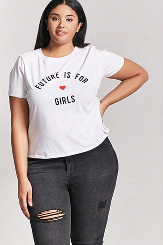 Plus Size Girls Graphic Tee
