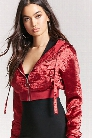Satin Ruched Jacket