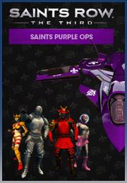 Saints Row: The Third Saints Purple Ops Pack