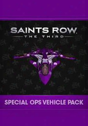 Saints Row: The Third Special Ops Vehicle Pack Dlc