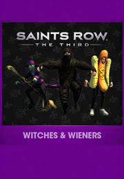 Saints Row: The Third Witches And Wieners Pack Dlc