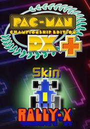 Pac-man Championship Edition Dx+: Rally-x Skin