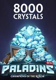 Paladinsâ® - 8000 Crystals