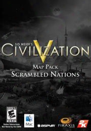 Sid Meier's Civilization V: Map Pack: Scrambled Nations (mac)