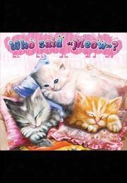 Who Said Meow