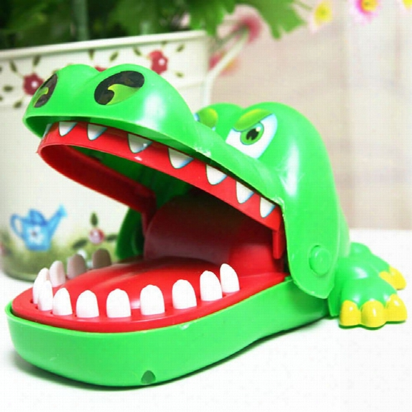 Cong Ming Gu Fun Toys Crocodile Dentist Bite Finger Game Croco Funny Novetly Teeth Toy For Kids Gift