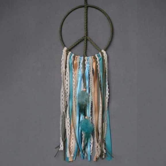 Dreamcatcher Gift Handmade Dream Catcher Net With Feather Abs Ornaments For Car Mirror Home Wall Hanging Decoration