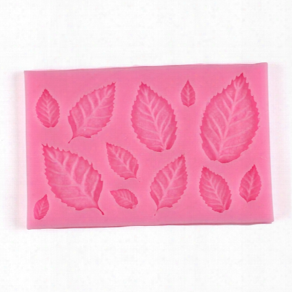 Facemile Diy Leaf Veiner Silicone Mold Cake Decorating Fondant Flower Sugar Craft Cake Bakware Mold Wedding Decoration