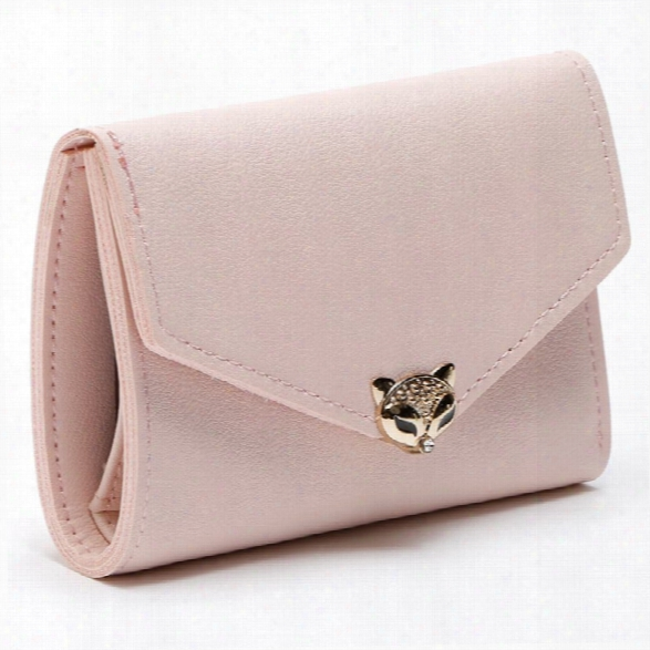 Fashion Lady Short Women Wallets Mini Money Purses Fold Pu Leather Bags Female Coin Purse Card Holder