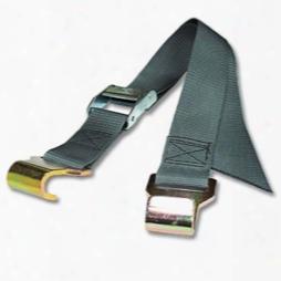 Flat Hook Straps W/ 2 Inch Heavyweight Polypropylene Webbing