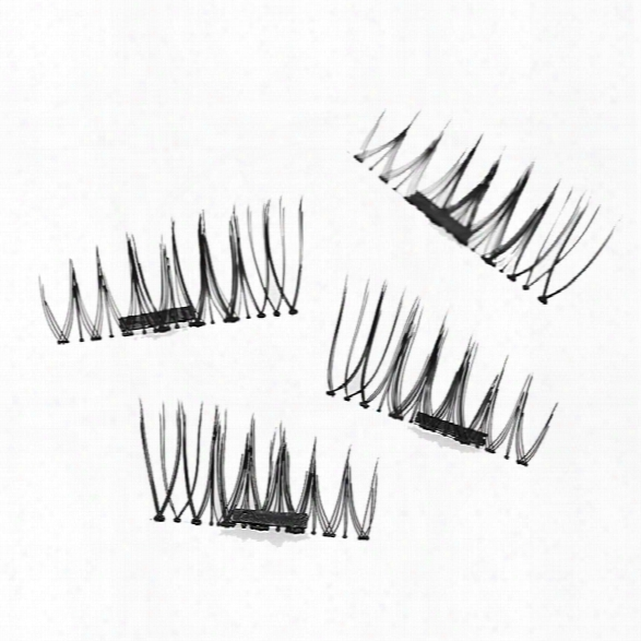 Imitation Magnetic False Eyelashes Free Glue Reusable 3d Stereosvopic Natural Makeup Eye Tools Kit One Pair