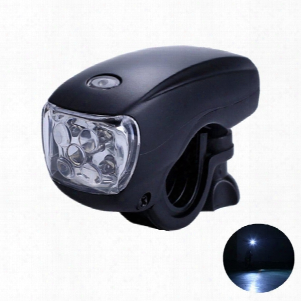 Leadbike Bicycle Front Light 5 Led Super Bright Headlight Waterproof Bike Safety Warning Lamp Night Riding Accessories
