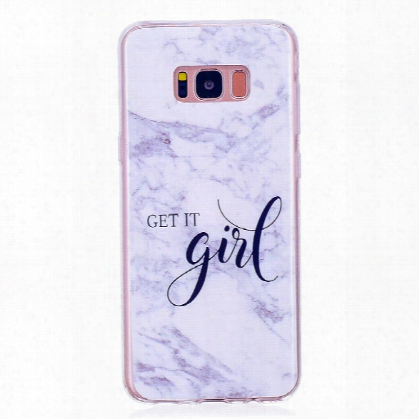 Marbling Phone Case For Samsung Galaxy S8 Plus Case Trend Fashion Soft Silicone Tpu Cover Cases Protection Phone Bag