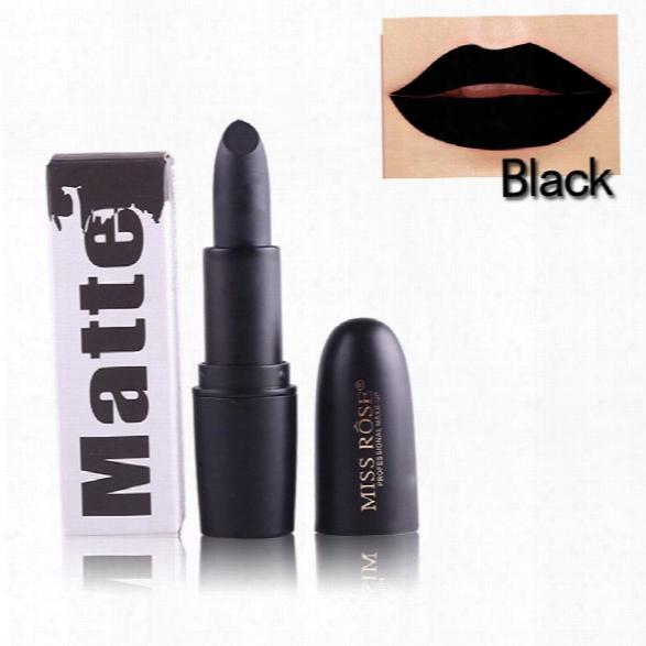 Miss Rose Brand Beauty Matte Moisturizing Lipstick Makeup Lipsticks Waterproof Lipgloss Mate Lipsticks Cosmeti