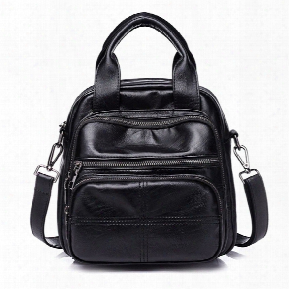 Multifunctional Three-use Mummy Shoulder Wild Handbag College Wind Student Bag Large-capacity Backpack Bales