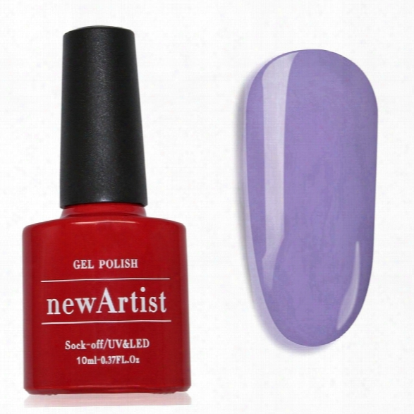 Newartist Pure Color Uv Led Nail Gel Polish Violet Series 30s Fast Drying Long Lasting Sock Off 10ml
